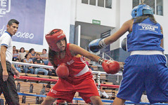Evelin López (rojo) Sandra Sontay (4)