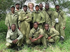 The Lowveld Rhino Trusts' tracking team is responsible for keeping tabs on several hundred black and white rhinos which roam more than a million acres on two private wildlife conservancies in Zimbabwe's Lowveld region. These rhinos comprise over half of Z