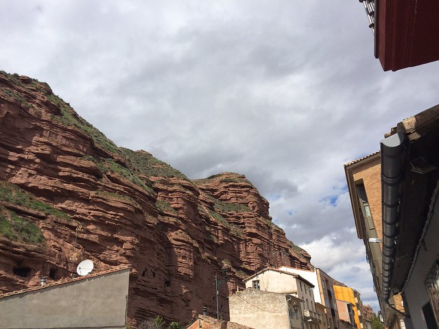 Red cliffs of Najera