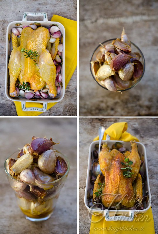 pollo ai 40 spicchi d'aglio