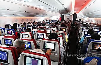 TAM A350-900 pasajeros Economy (RD)