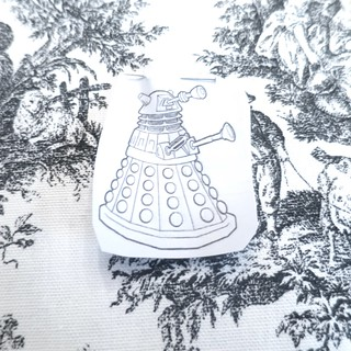Iron Craft '16 Challenge 8 - Doctor Who Toile