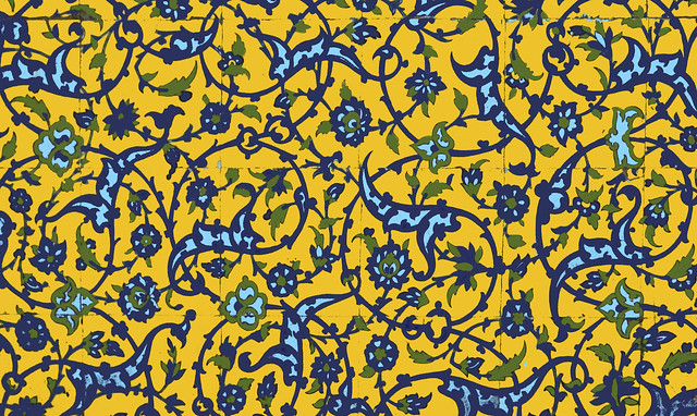 Eslimi Pattern From Vank Church, Isfahan (Edited Ver)