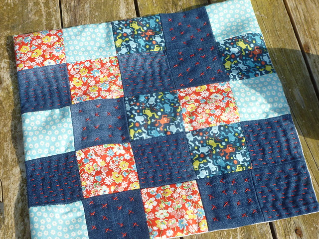 Little patchwork mat