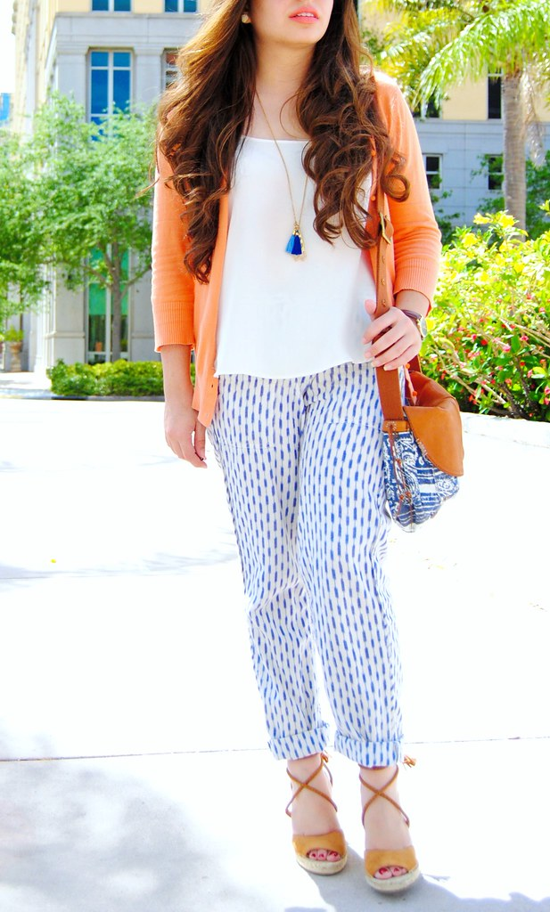 resort boho chic spring outfit details