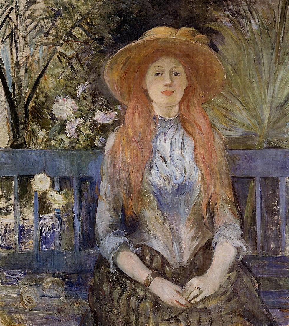 On a Bench by Berthe Morisot, 1889