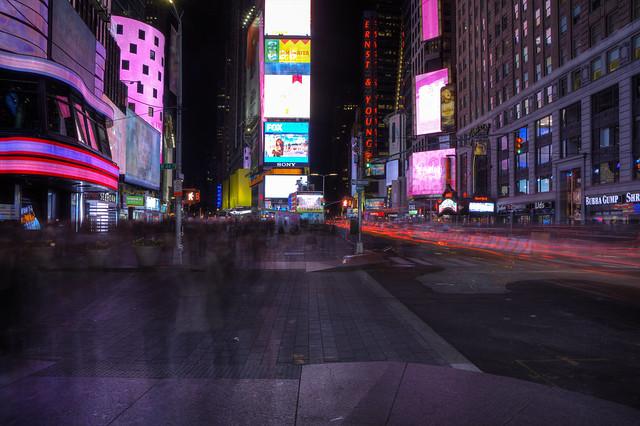 time warp, NY style