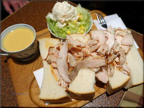 Photo:2015-11-04_T@ka.の食べ飲み歩きメモ(ブログ版)_食パン1斤のサンドイッチにトライ!【東銀座】American_04 By:logtaka
