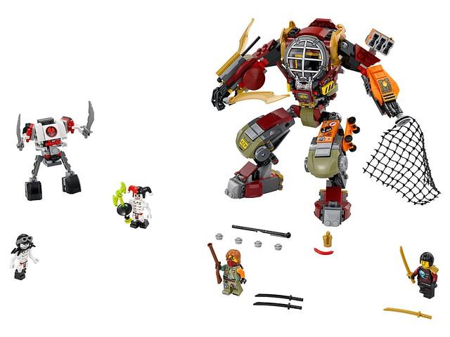 Nouveautés LEGO Ninjago 70592 Salvage M.E.C.