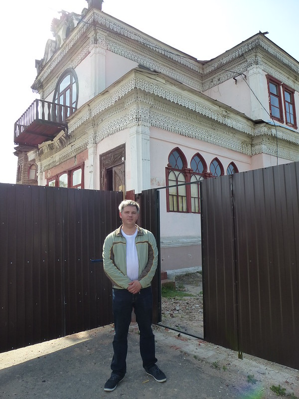 Dmitriy Kuzin and Osipov house