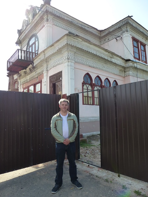Dmitriy Kuzin and Osipov`s house