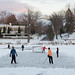 Handmade Ice Hockey Rink, Lake of the Isles by metroblossom