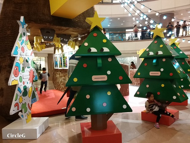 港威中心 hongkong tst 尖沙咀2015 CIRCLEG 聖誕裝飾  (3)