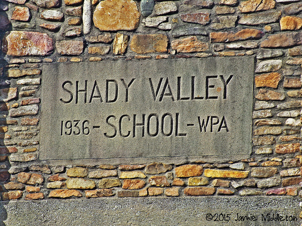 Shady Valley Elementary -- Shady Valley, Tennessee