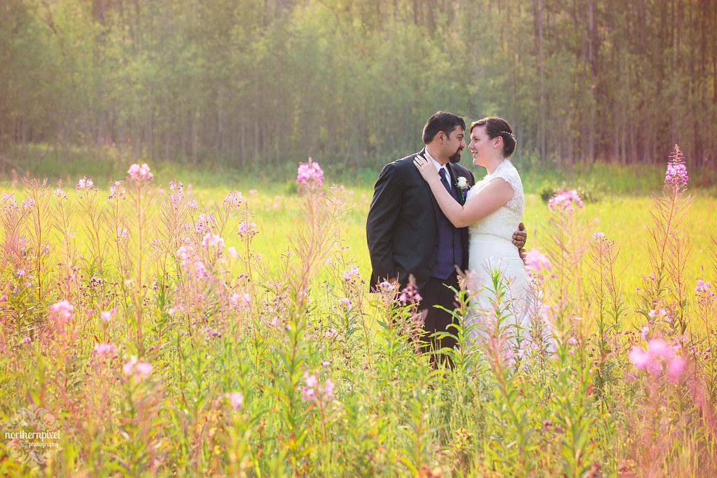Prince George BC Summer Wedding