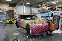 Carwrap Scentchips MINI Cooper