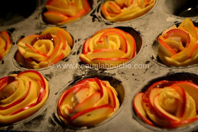 Rose Sablée aux Pommes et à la Confiture de Figue © Ana Luthi Tous droits réservés 16