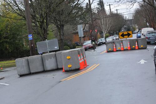 SE Clinton traffic diversion project-16