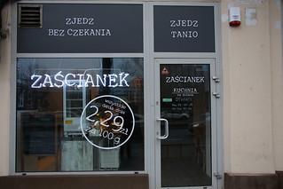 Zascianek.  Cheap food buffet style.