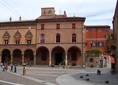 Italy (Bologna) Piazza of Santo Stefano