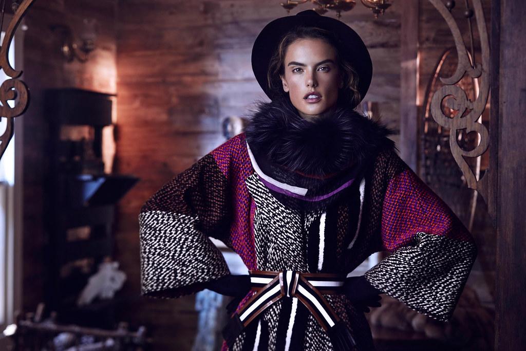 Алессандра Амбросио — Фотосессия для «Harper's Bazaar» KZ 2015 – 2