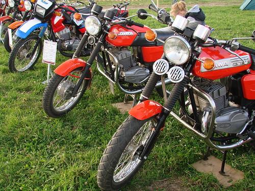 Мотолегенды на фестивале ретро-мототехники под открытым небом «Moto Classic»