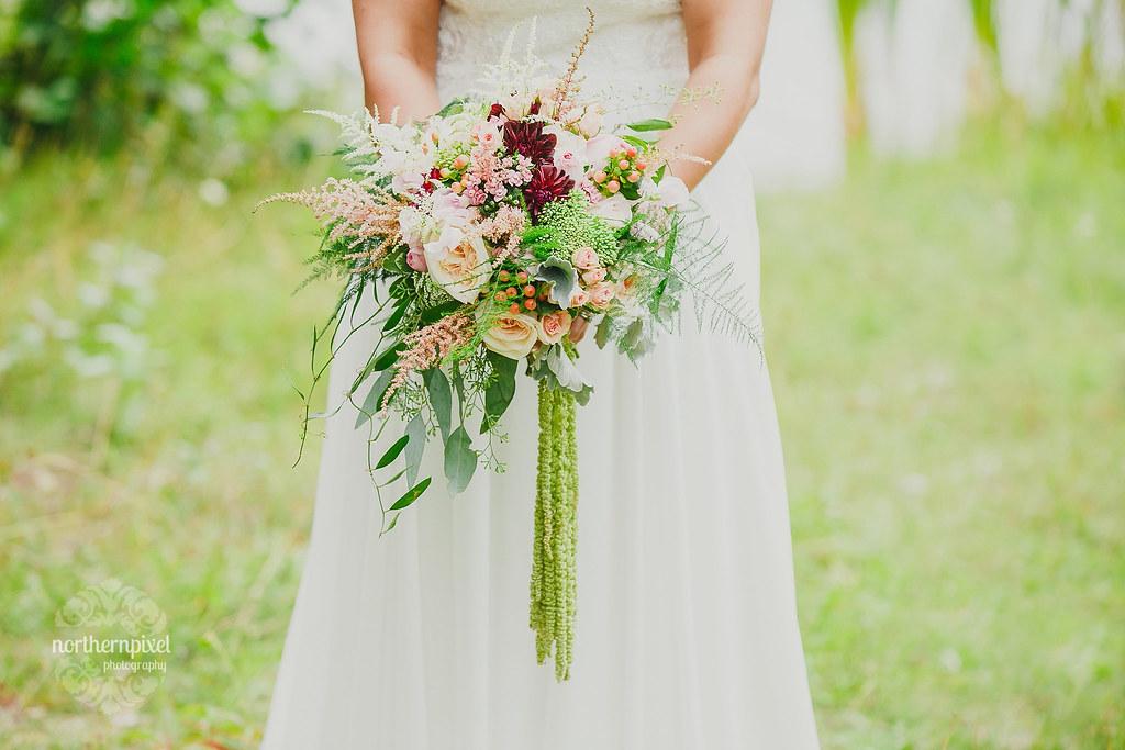 Wedding Bouquet Princess Flowers Prince George BC Elopement