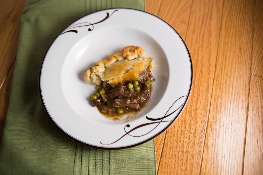 Short Rib Pot Pie Individual
