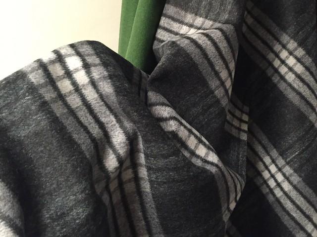 Italian wool for a skirt
