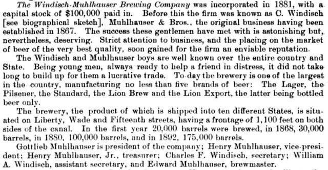 Lion-brewery-history