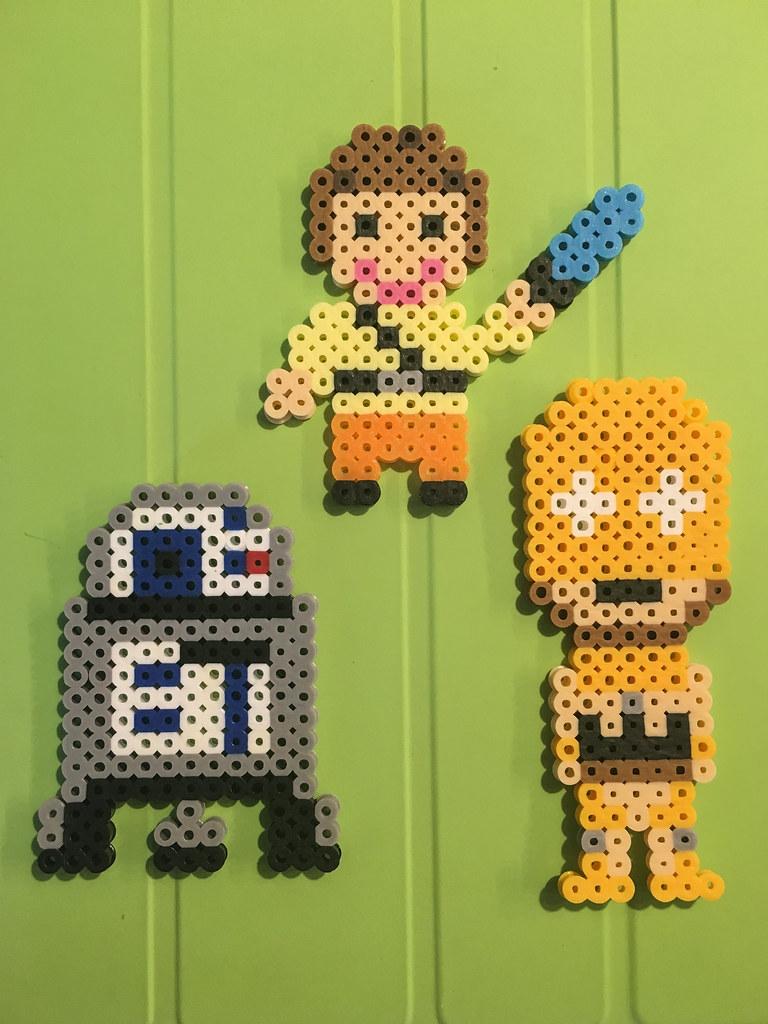 Luke, R2D2, and C-3PO