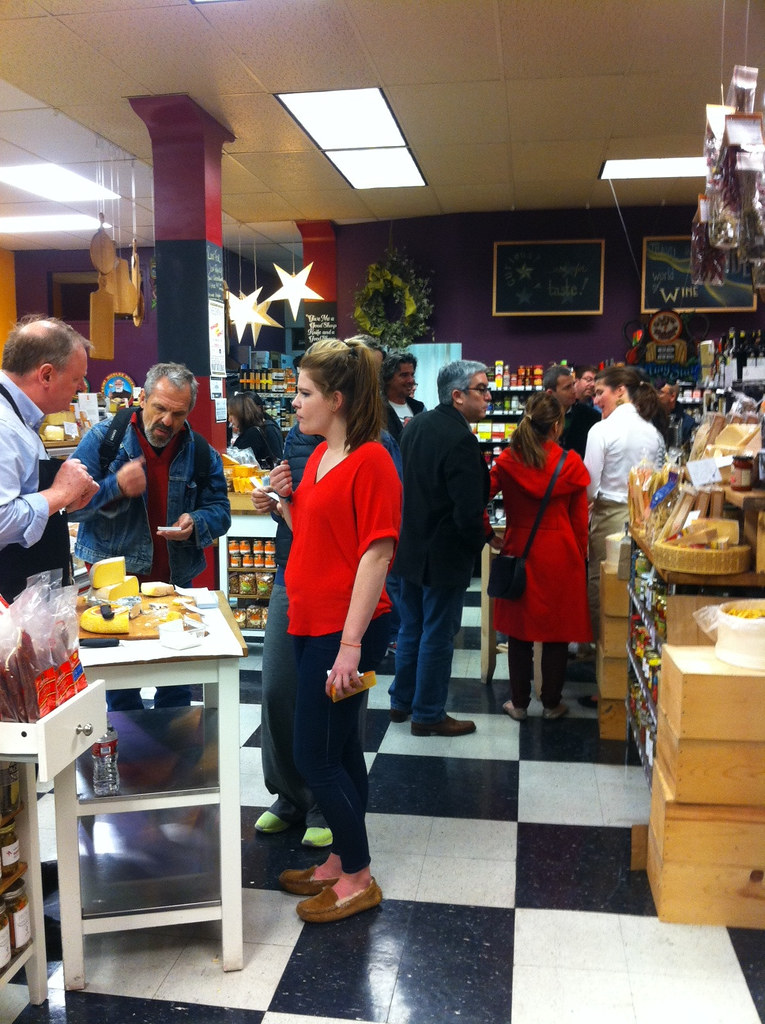 Cheese Tasting at Cheese Plus 1