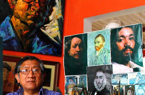 Bruno Portuguez, retratista del alma