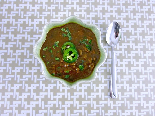 Green Venison Chili