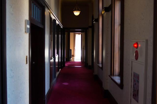 旧前田家本邸洋館_二階廊下