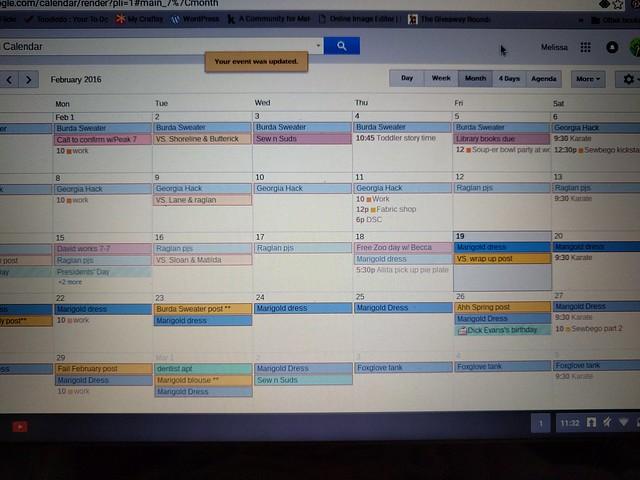 calendar temp