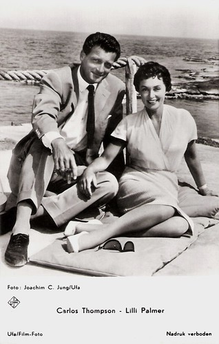 Carlos Thompson and Lilli Palmer