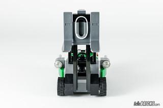 REVIEW LEGO 76045 DC Comics Batman Kryptonite Interception 12