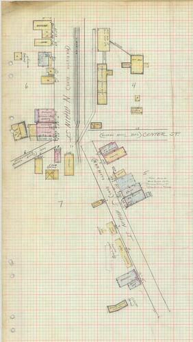 Travelers Rest Sanborn Map 1949 north