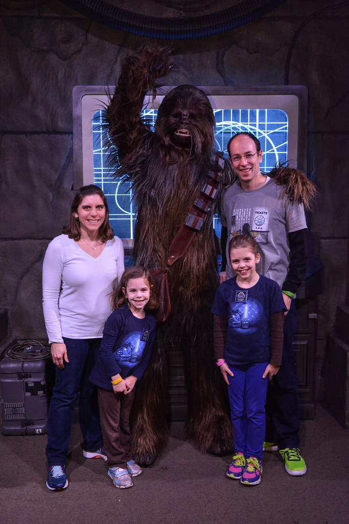 Chewbacca family pic