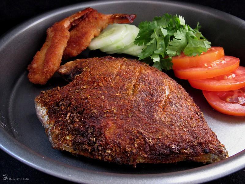 Korenena pecena ryba