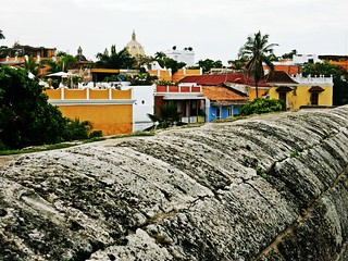Cartagena de Indias from the city wall