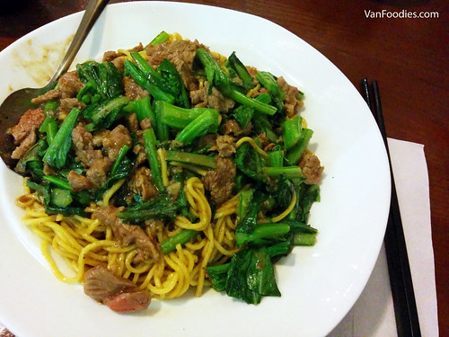Satay Lamb with Fried Noodles