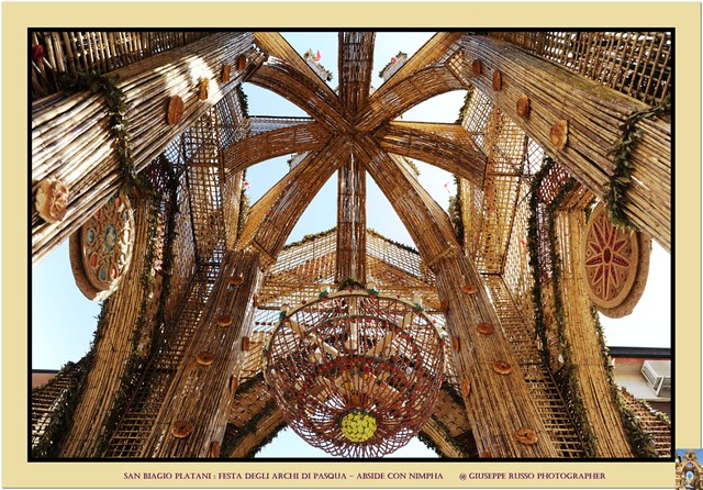 FESTA DEGLI ARCHI DI PASQUA DI SAN BIAGIO PLATANI (AGRIGENTO) - Trionfo degli archi : ABISDE CON NIMPHA