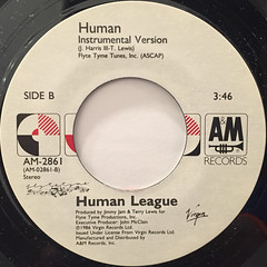 HUMAN LEAGUE:HUMAN(LABEL SIDE-B)