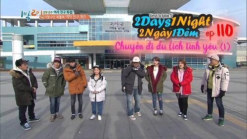 [Vietsub] 2 Days 1 Night Season 3 Tập 110