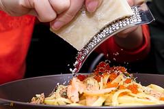 Aglio Olio Smoked Salmon-8204-