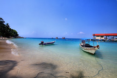 Perhentian Besar Island.
