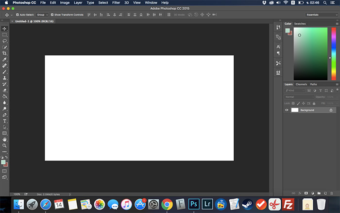 Photoshop on mac