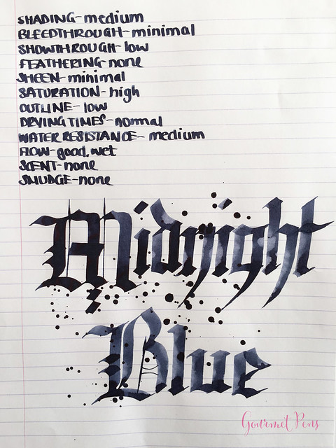 Ink Shot Review Graf Von Faber-Castell Midnight Blue @AppelboomLaren (8)